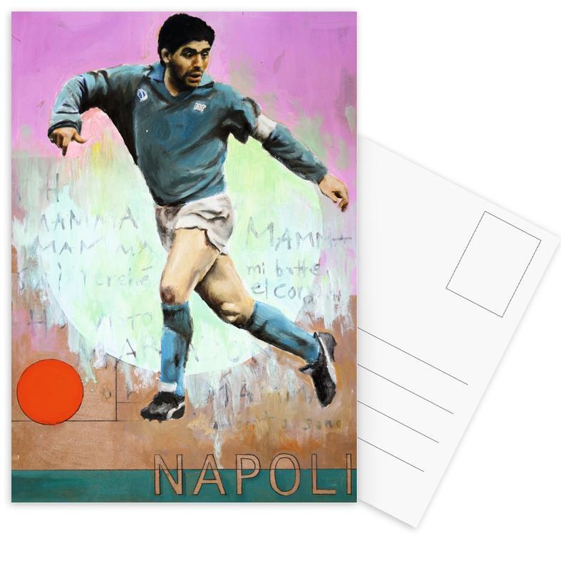 One Love Napoli -Postkartenset