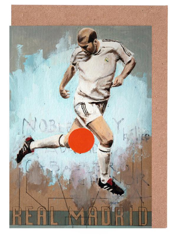 Madrid, Football, One Love Real cartes de vœux