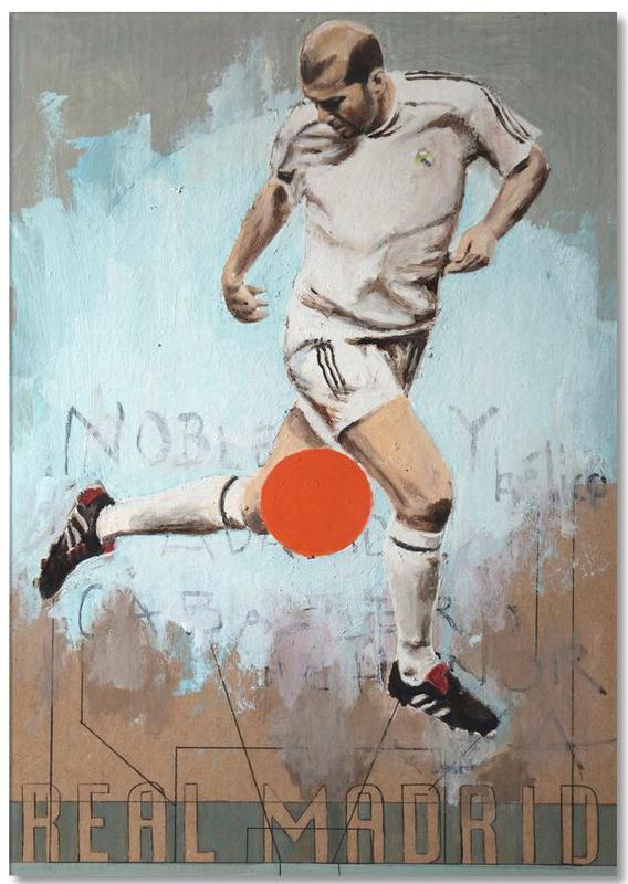 Football, Madrid, One Love Real Notepad