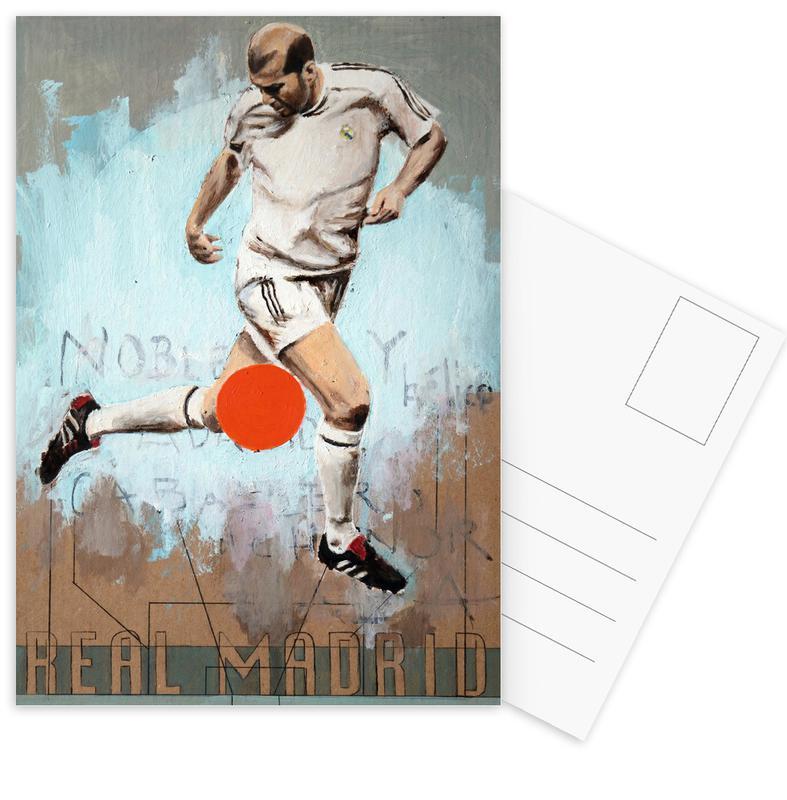 Madrid, Football, One Love Real cartes postales