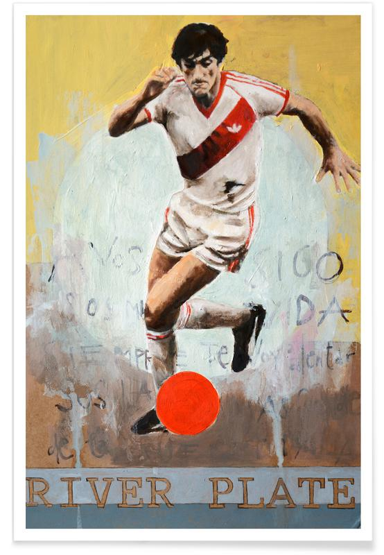 Fußball, One Love - River Plate -Poster