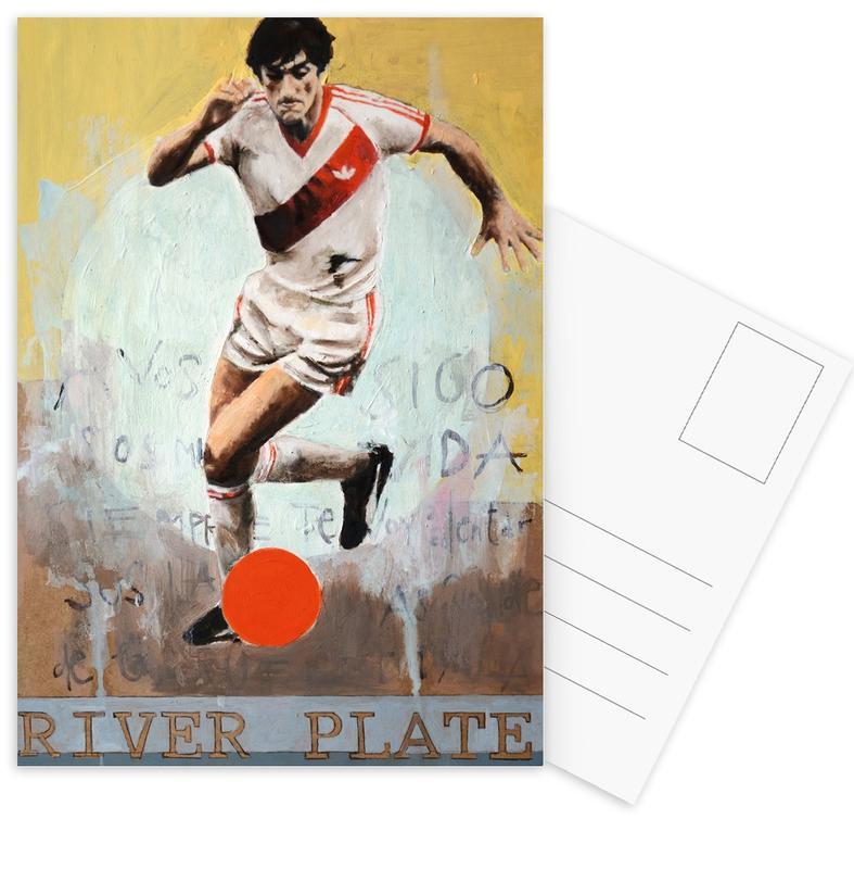 Football, One Love - River Plate Postcard Set