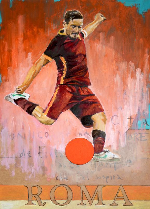 One Love Roma canvas doek
