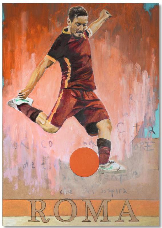 Football, One Love Roma Notepad