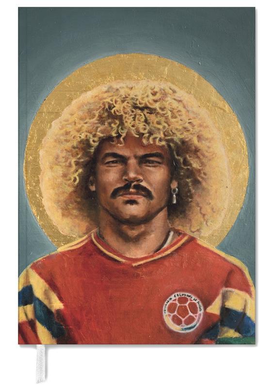 Football Icon - Carlos Valderrama Personal Planner