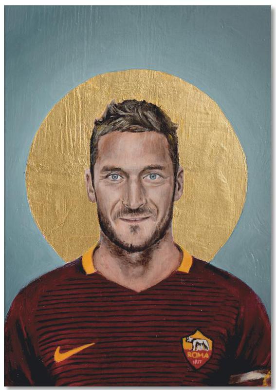 Football, Football Icon - Francesco Totti Notepad