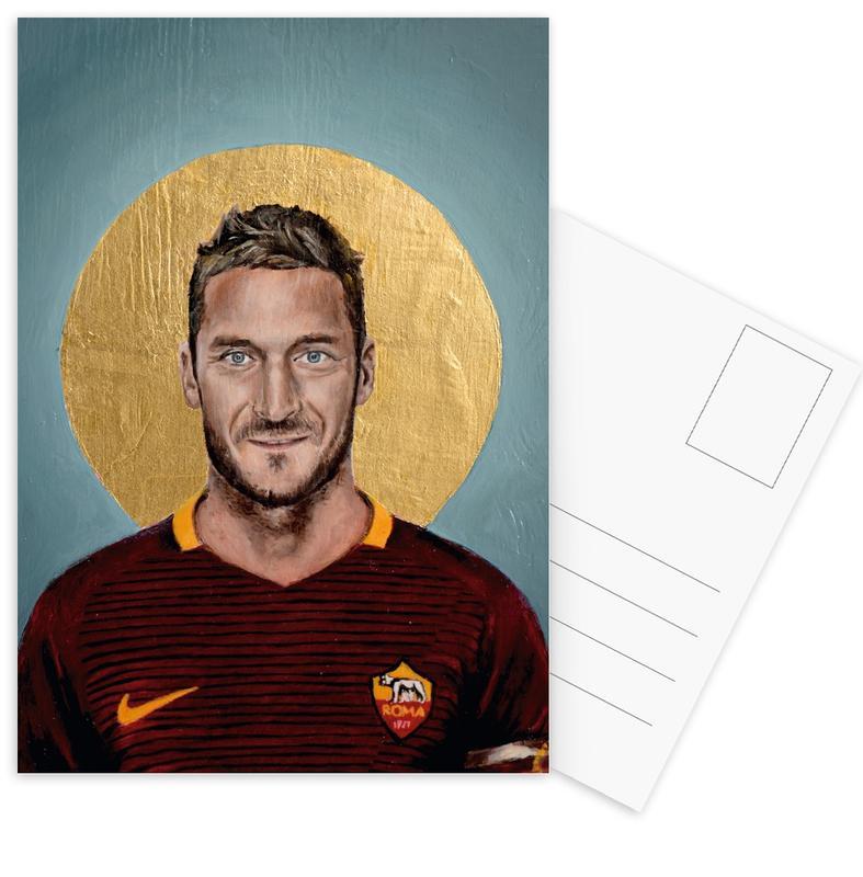 Football, Football Icon - Francesco Totti cartes postales