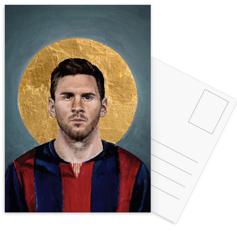 Voetbal, Lionel Messi, Football Icon - Lionel Messi ansichtkaartenset