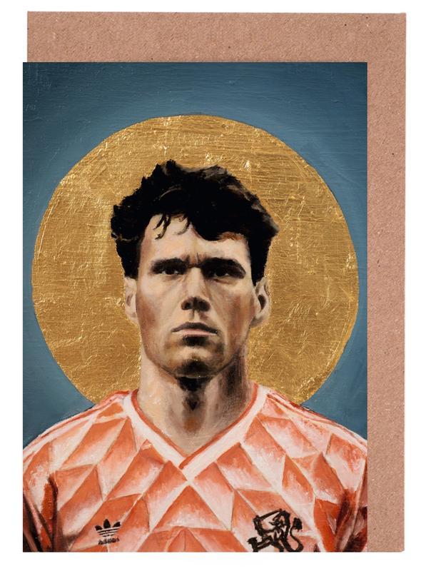 , Football Icon - Marco van Basten cartes de vœux