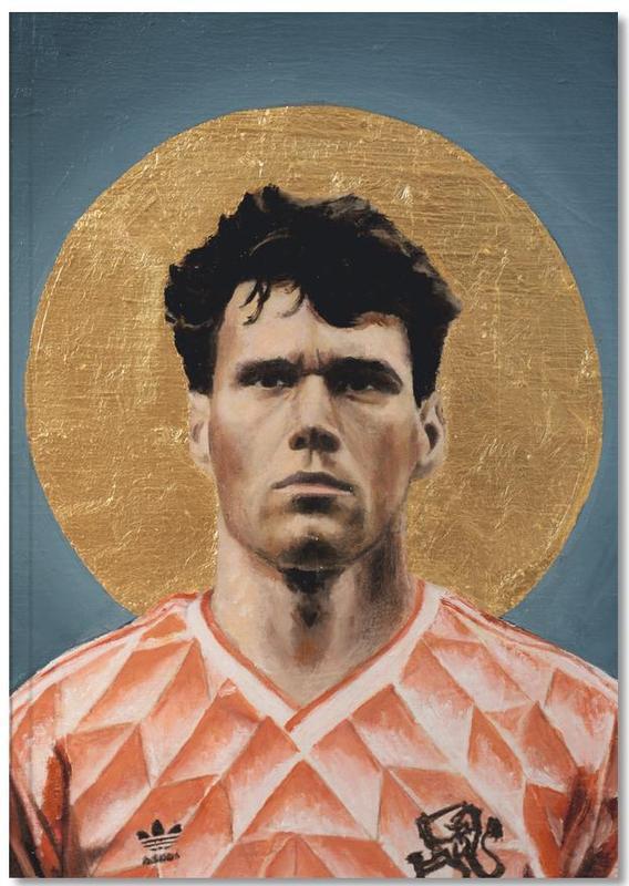 Football Icon - Marco van Basten Notebook