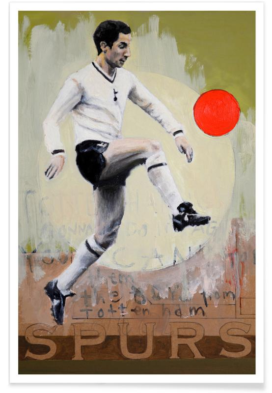 Voetbal, One Love - Spurs poster