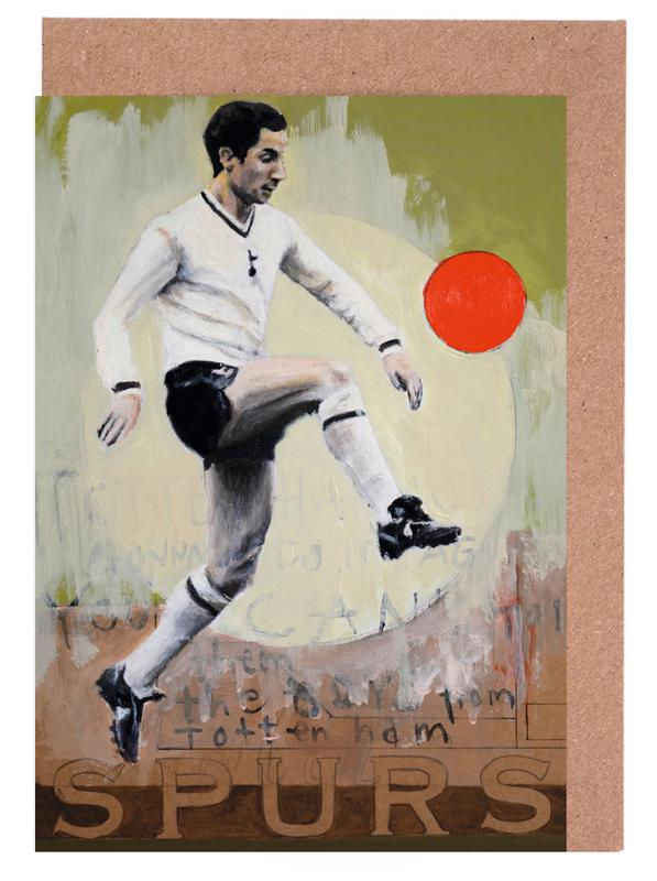 Football, One Love - Spurs cartes de vœux