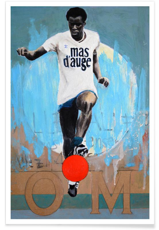 Football, One Love - OM affiche