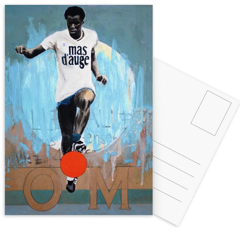 Football, One Love - OM cartes postales