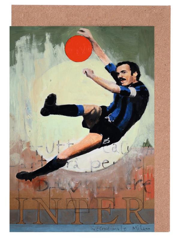 Football, One Love - Inter cartes de vœux