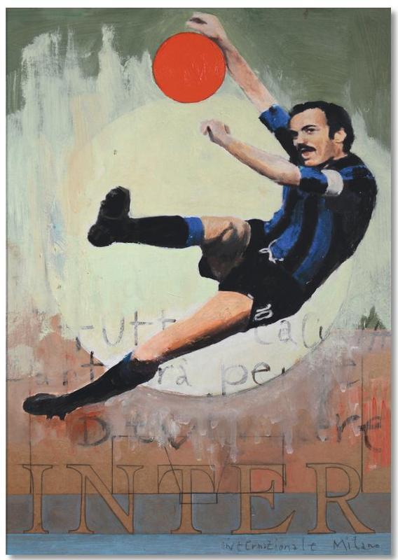 Football, One Love - Inter Notepad