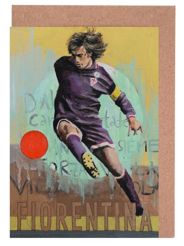 One Love - Fiorentina Greeting Card Set