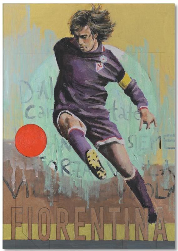Football, One Love - Fiorentina Notepad
