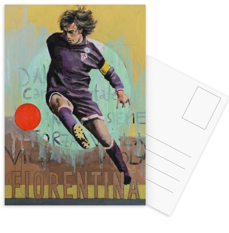 Voetbal, One Love - Fiorentina ansichtkaartenset