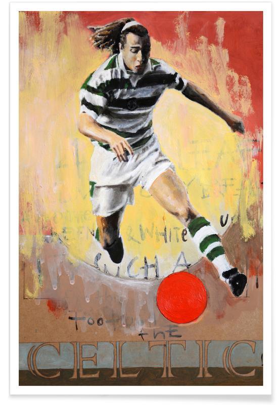 One Love - Celtic Poster