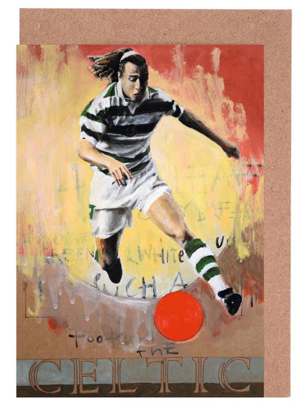 Football, One Love - Celtic cartes de vœux