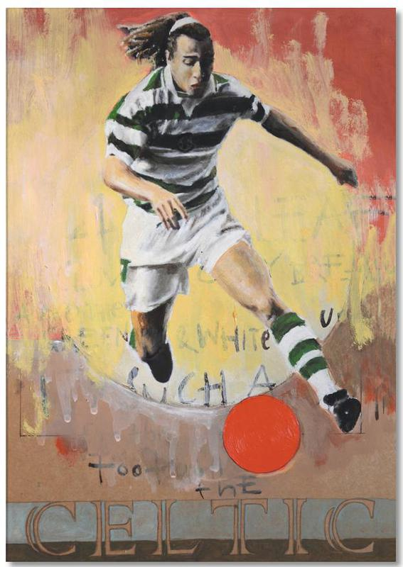 Football, One Love - Celtic Notepad
