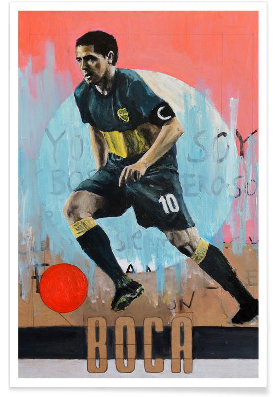 Fußball, One Love - Boca -Poster