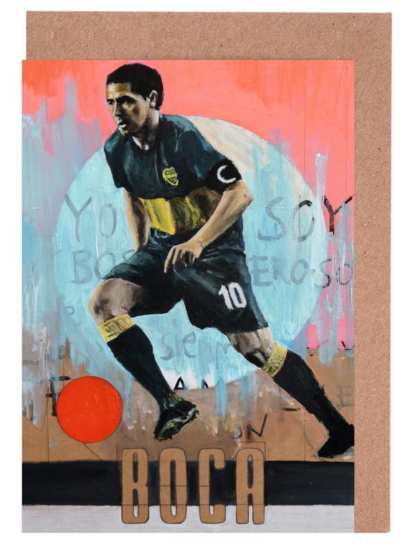 Football, One Love - Boca cartes de vœux