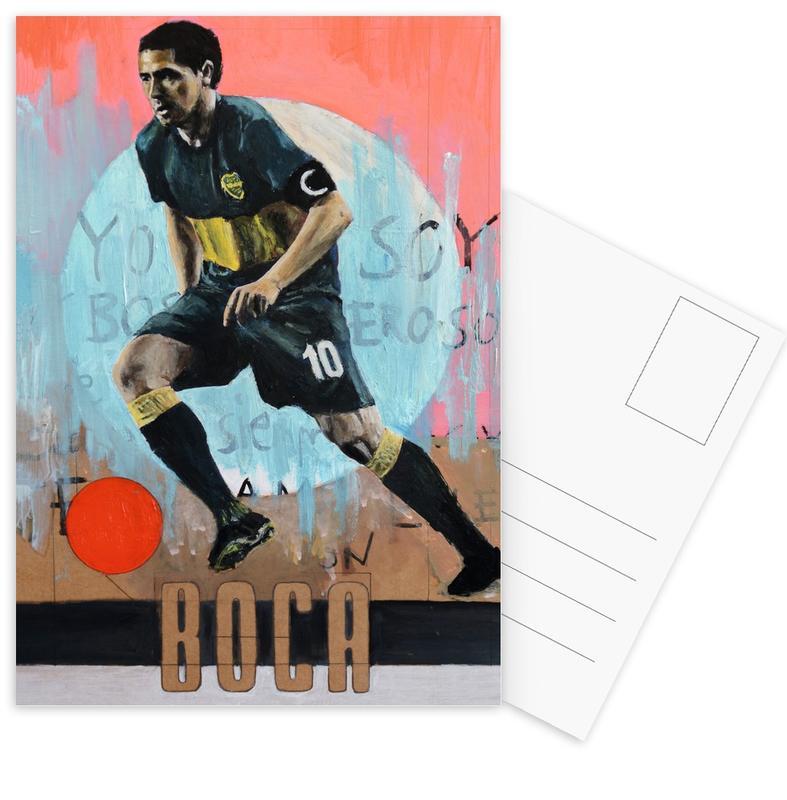 Football, One Love - Boca cartes postales