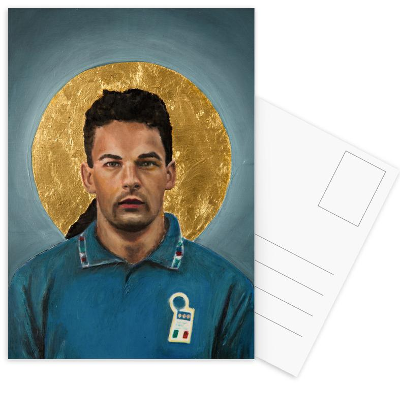 Football, Football Icon - Roberto Baggio cartes postales