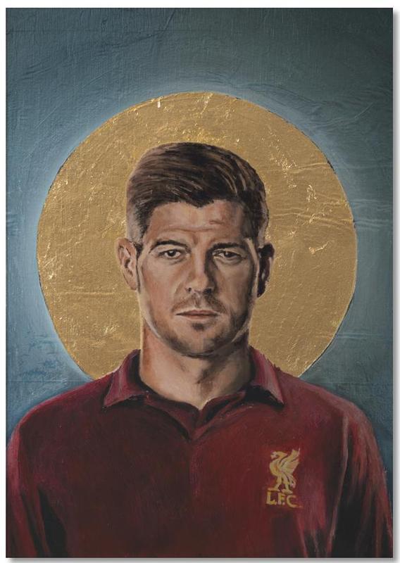 Football Icon - Steven Gerrard Notepad