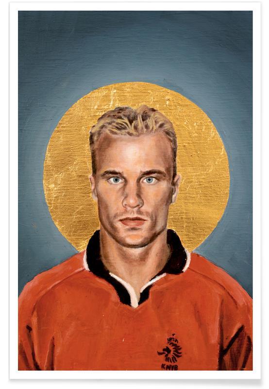Voetbal, Football Icon - Denis Bergkamp poster