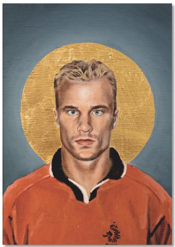 Football, Football Icon - Denis Bergkamp Notepad