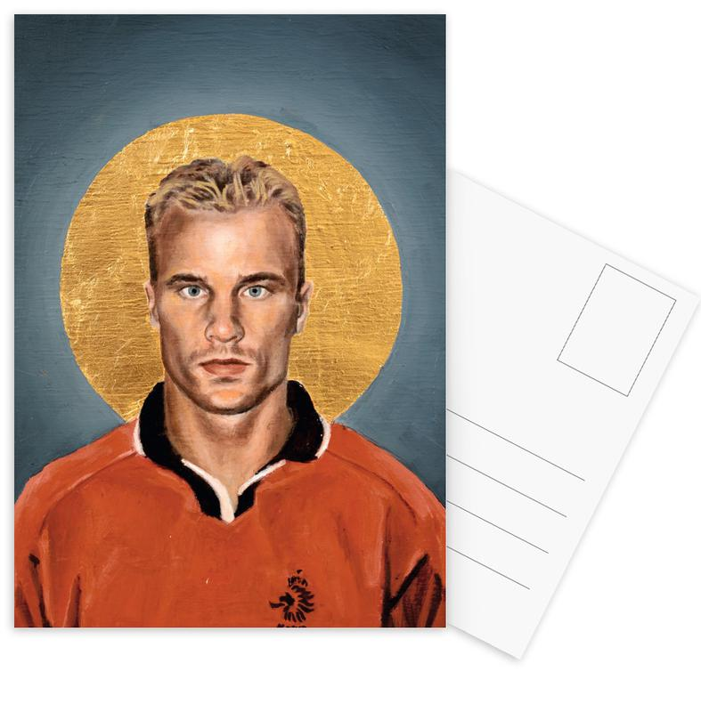 Football, Football Icon - Denis Bergkamp cartes postales