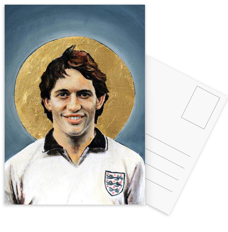 Football, Football Icon - Gary Lineker cartes postales