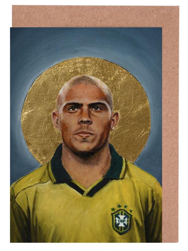 Madrid, Football, Football Icon - Ronaldo cartes de vœux