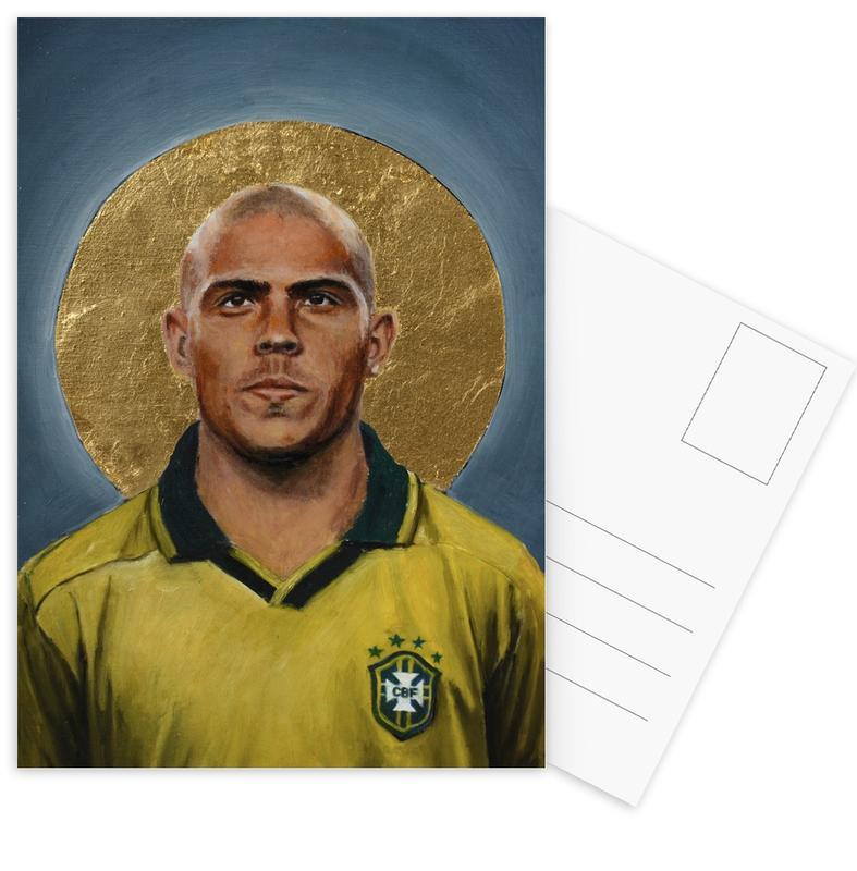 Madrid, Football, Football Icon - Ronaldo cartes postales