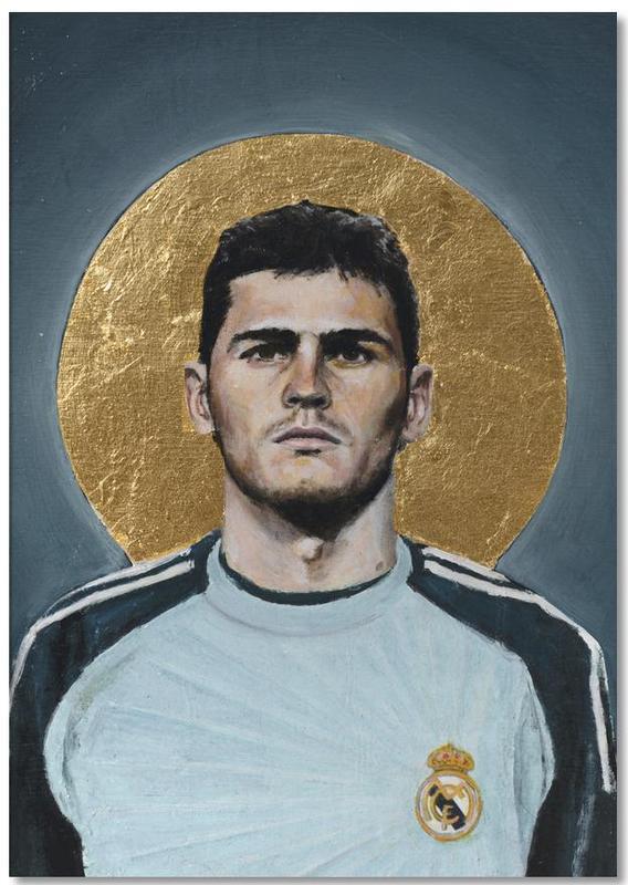 Football, Football Icon - Iker Casillas Notepad
