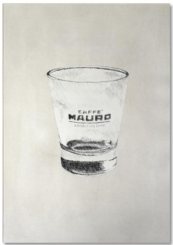 , Profond - Cafe Mauro Notepad