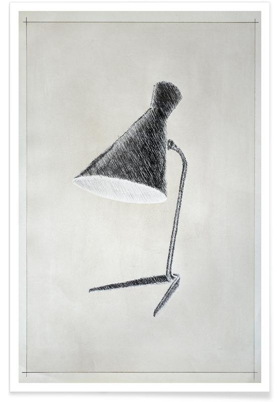 Architectural Details, Profond - Lamp Poster