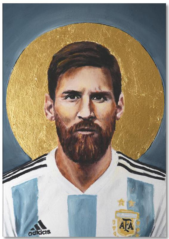 Football, Lionel Messi, Football Icon - Lionel Messi Notepad