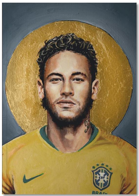 Football Icon -Neymar Notebook