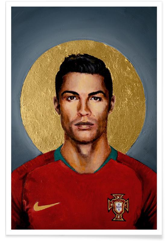 Cristiano Ronaldo, Football, Football Icon - Cristiano Ronaldo affiche
