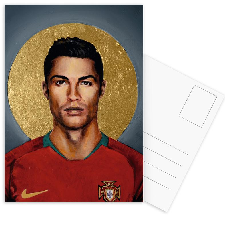 Cristiano Ronaldo, Football, Football Icon - Cristiano Ronaldo cartes postales