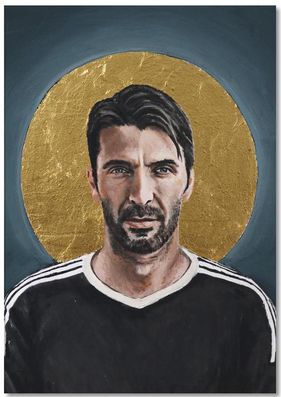 , Football Icon - Buffon Notepad