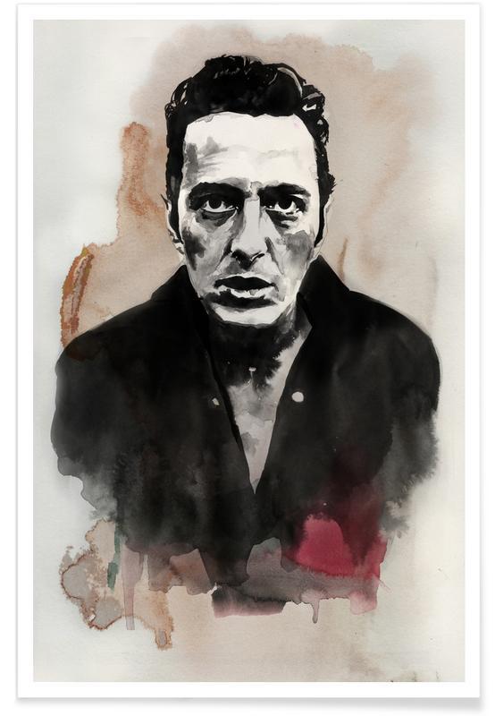 , Joe Strummer Poster