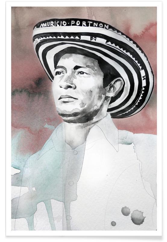 , Andres Landero -Poster
