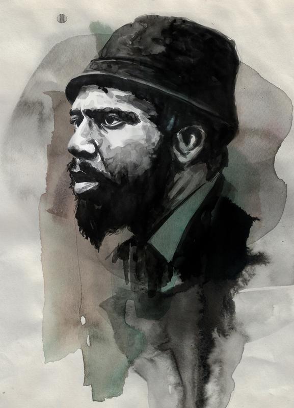 Thelonious Monk -Leinwandbild