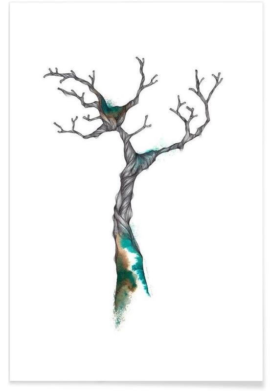 Trees, Arbre Poster