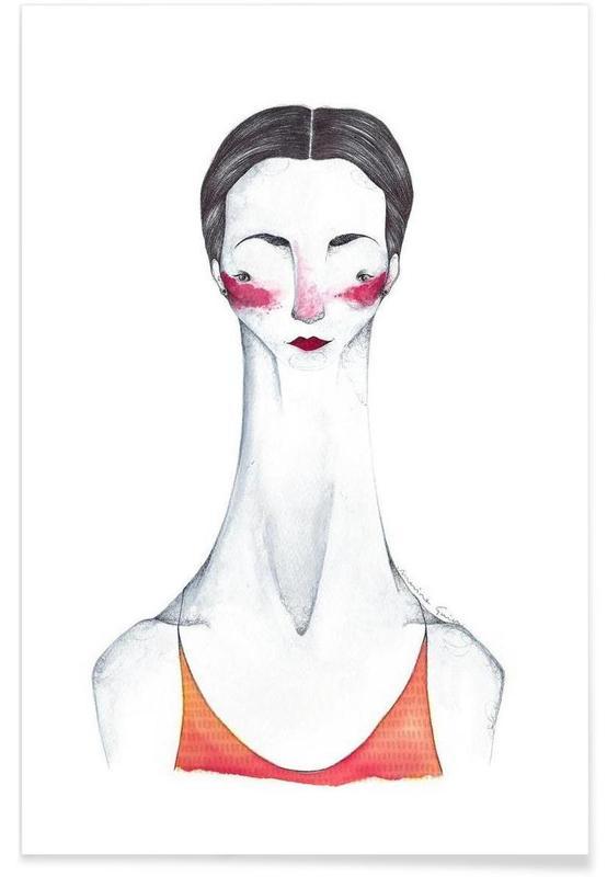 Portraits, Pina Bausch Poster